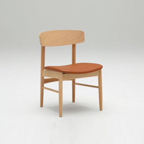 Karimoku60 - armless dining chair II liber brown - Dining Chair