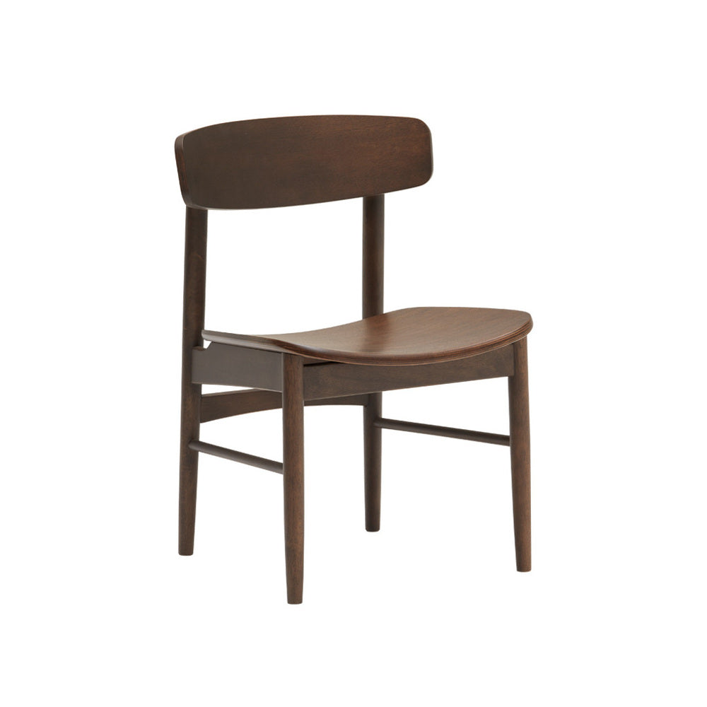 T chair mocha brown