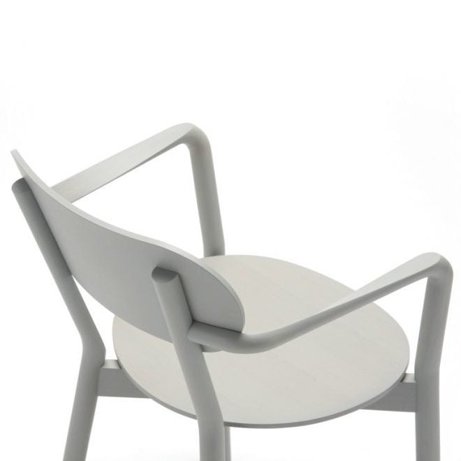 CASTOR ARM CHAIR grain gray