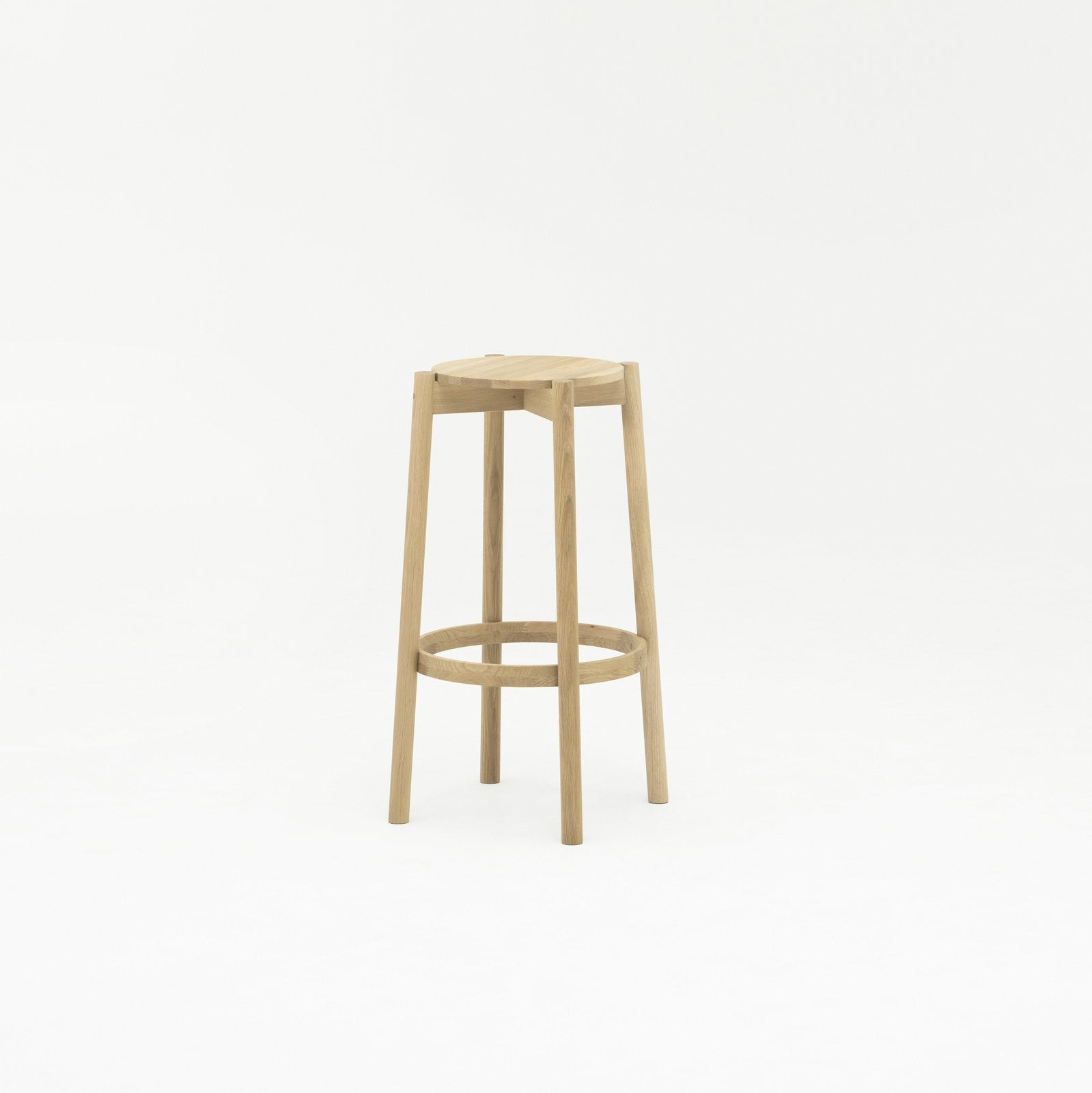 Karimoku New Standard - CASTOR BAR STOOL HIGH oak - Stool