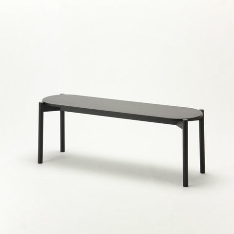 Karimoku New Standard - CASTOR DINING BENCH black