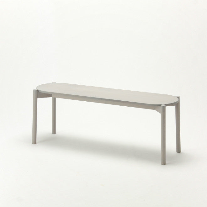 CASTOR DINING BENCH grain gray