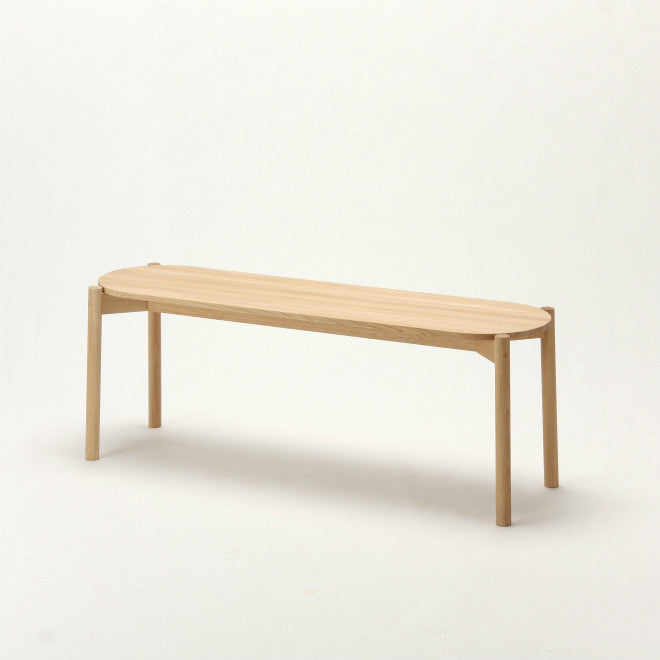 Karimoku New Standard - CASTOR DINING BENCH oak