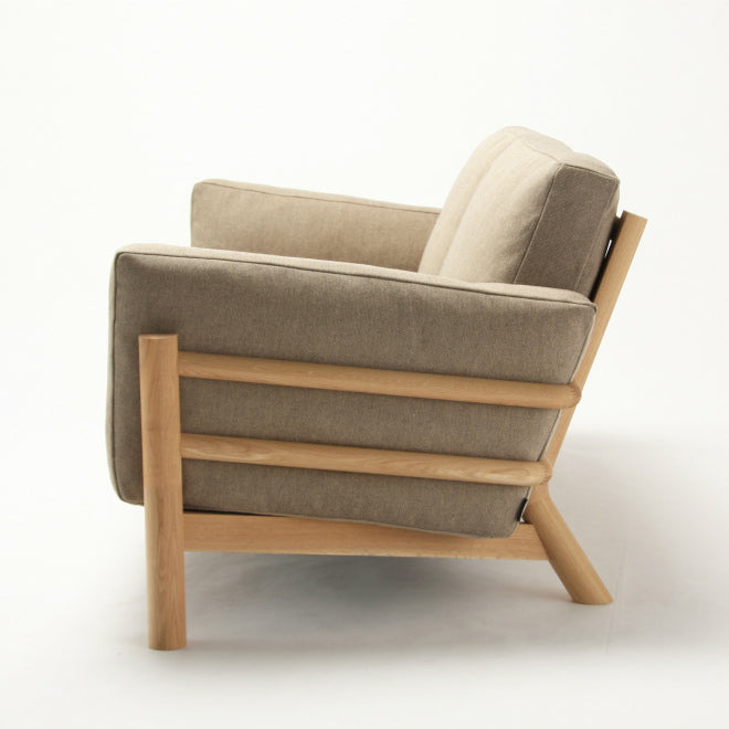 CASTOR SOFA SINGLE SEATER - Armchair - Karimoku New Standard