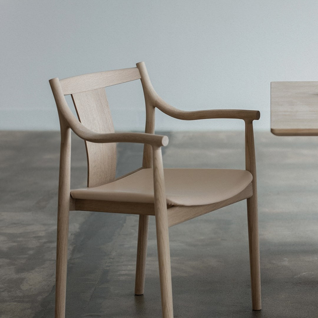 Nissin - CHORUS Dining Chair Wooden Seat - Dining Chair