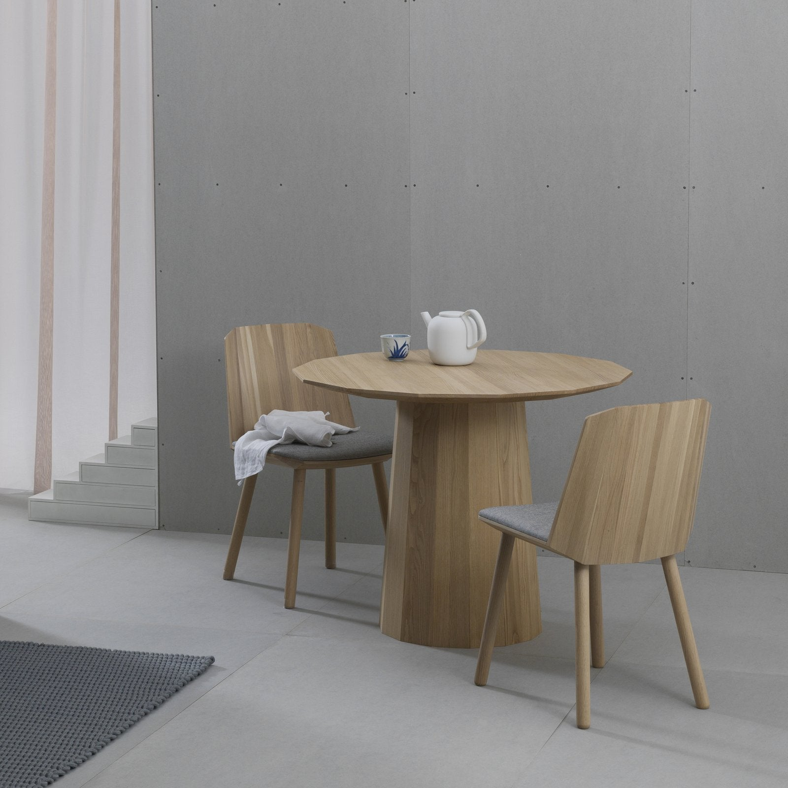 Karimoku New Standard - COLOUR WOOD CHAIR NATURAL