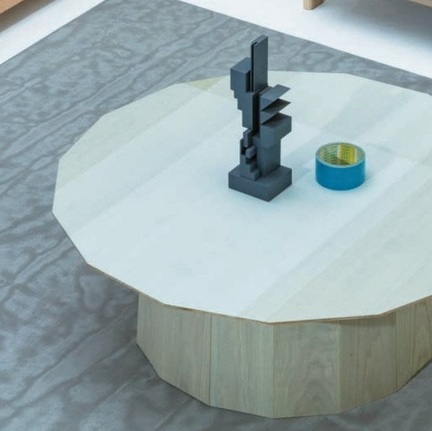 Karimoku New Standard - COLOUR WOOD GREEN GRID d900 - Coffee Table