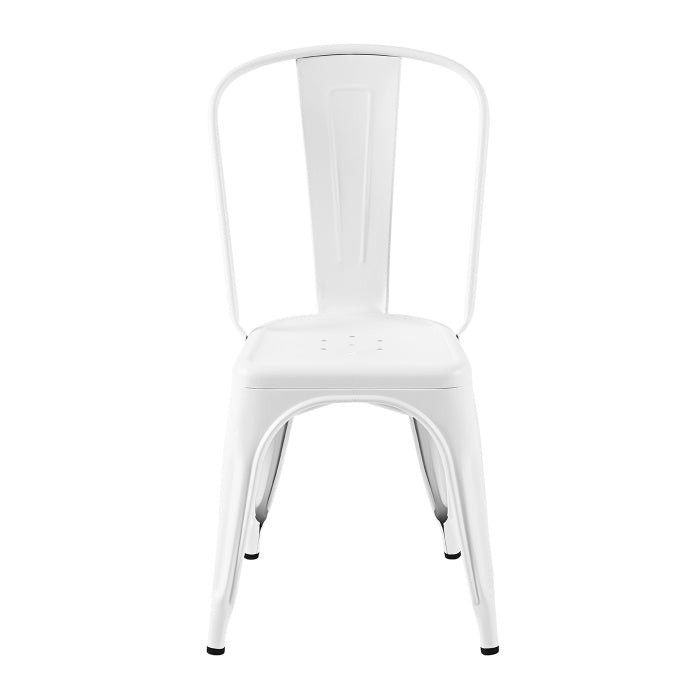 READY TO GO | A Chair stainless steel Blanc