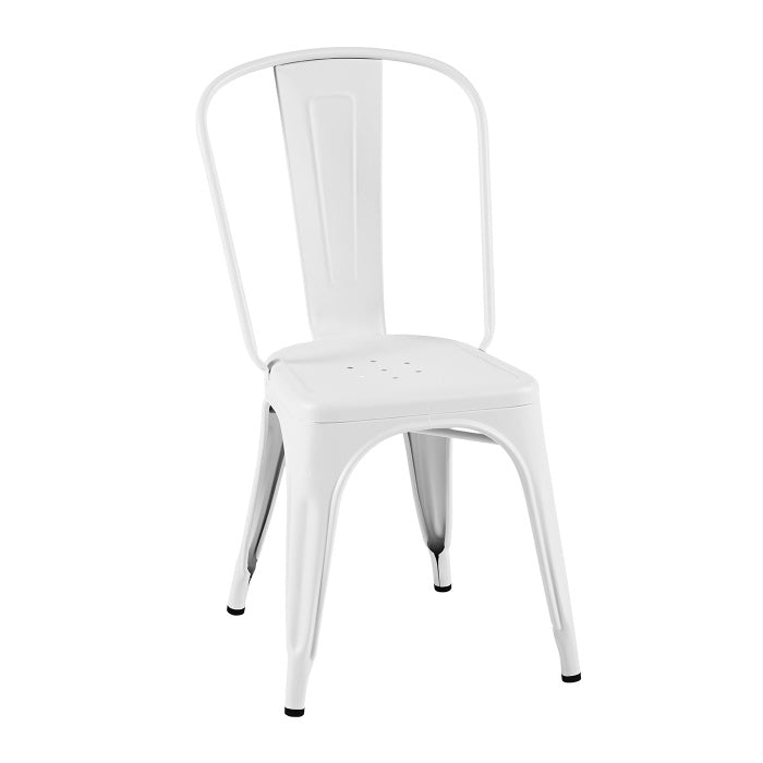 READY TO GO - READY TO GO | A Chair stainless steel Blanc - Dining Chair