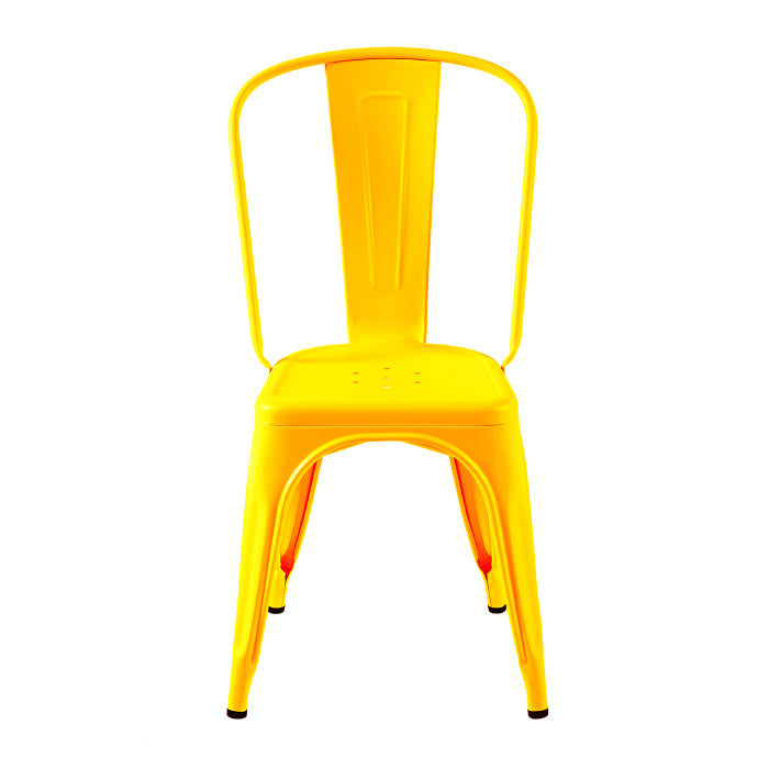 READY TO GO - READY TO GO | A Chair stainless steel Jaune Citron - Dining Chair