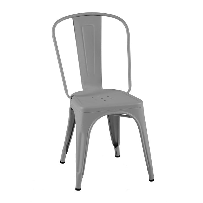 READY TO GO - READY TO GO | A Chair stainless steel Gris Souri - Dining Chair