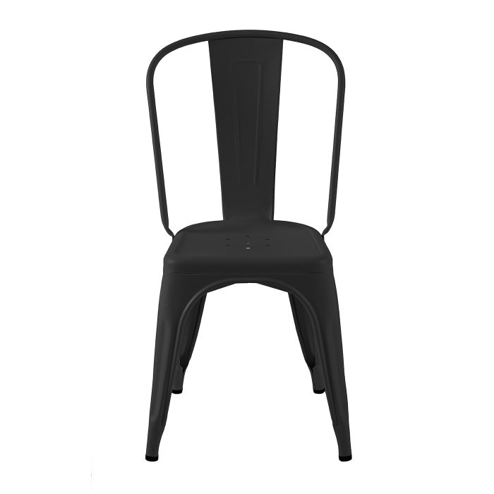 READY TO GO | A Chair stainless steel Noir