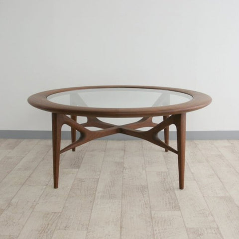 Takumi Kohgei - Creer Living Glass Table - Coffee Table