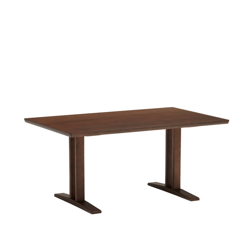 living dining table T mocha brown
