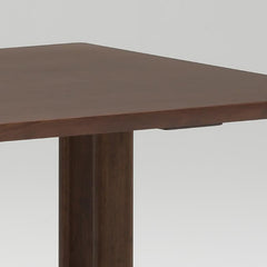 dining table T 1300 mocha brown