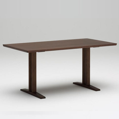 dining table T 1500 mocha brown