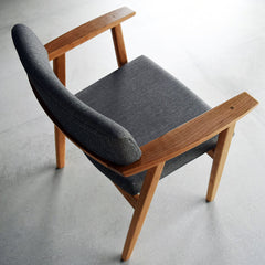 RISERVA arm chair DC309-1W - Dining Chair - Nagano Interior