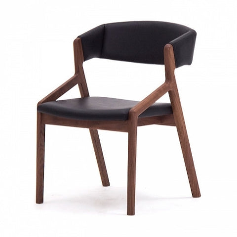 Nagano Interior - CORONA arm chair DC323-1W - Dining Chair