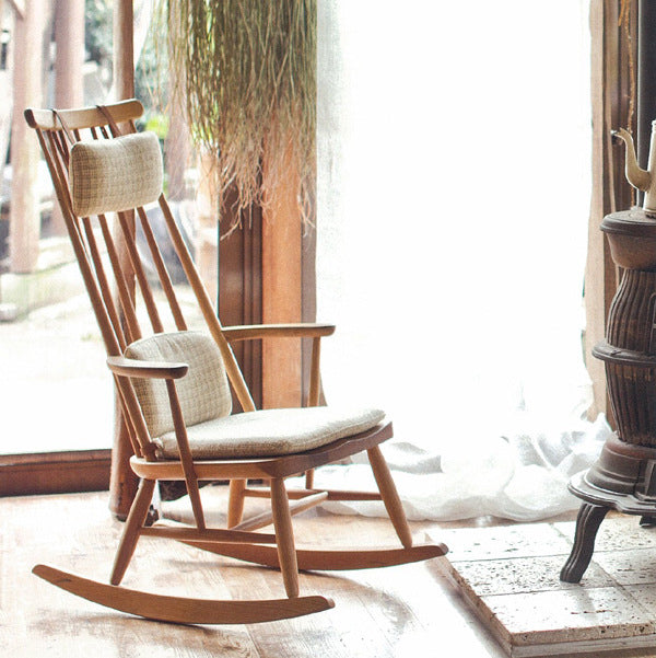 Nagano Interior - Friendly rocking chair LC318-1P - Rocking Chair