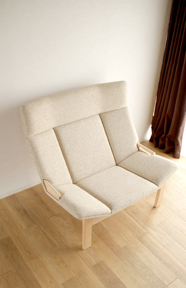 Grande 1P Sofa Maple - Armchair - Takumi Kohgei
