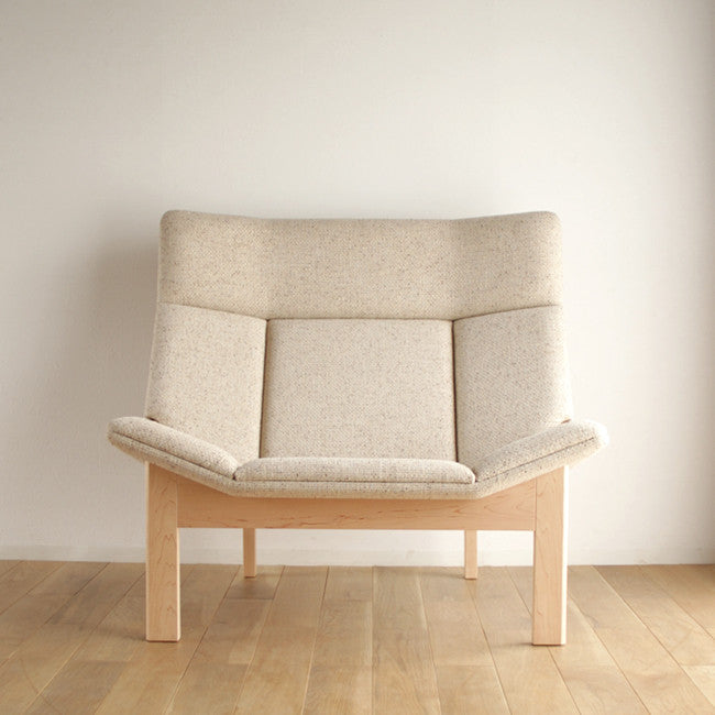 Takumi Kohgei - Grande 1P Sofa Maple - Armchair