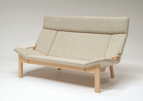 Grande 2P Sofa Maple - Sofa - Takumi Kohgei