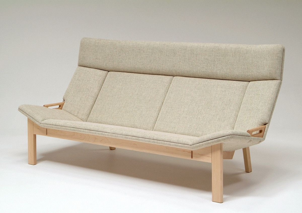 Grande 3P Sofa Maple - Sofa - Takumi Kohgei