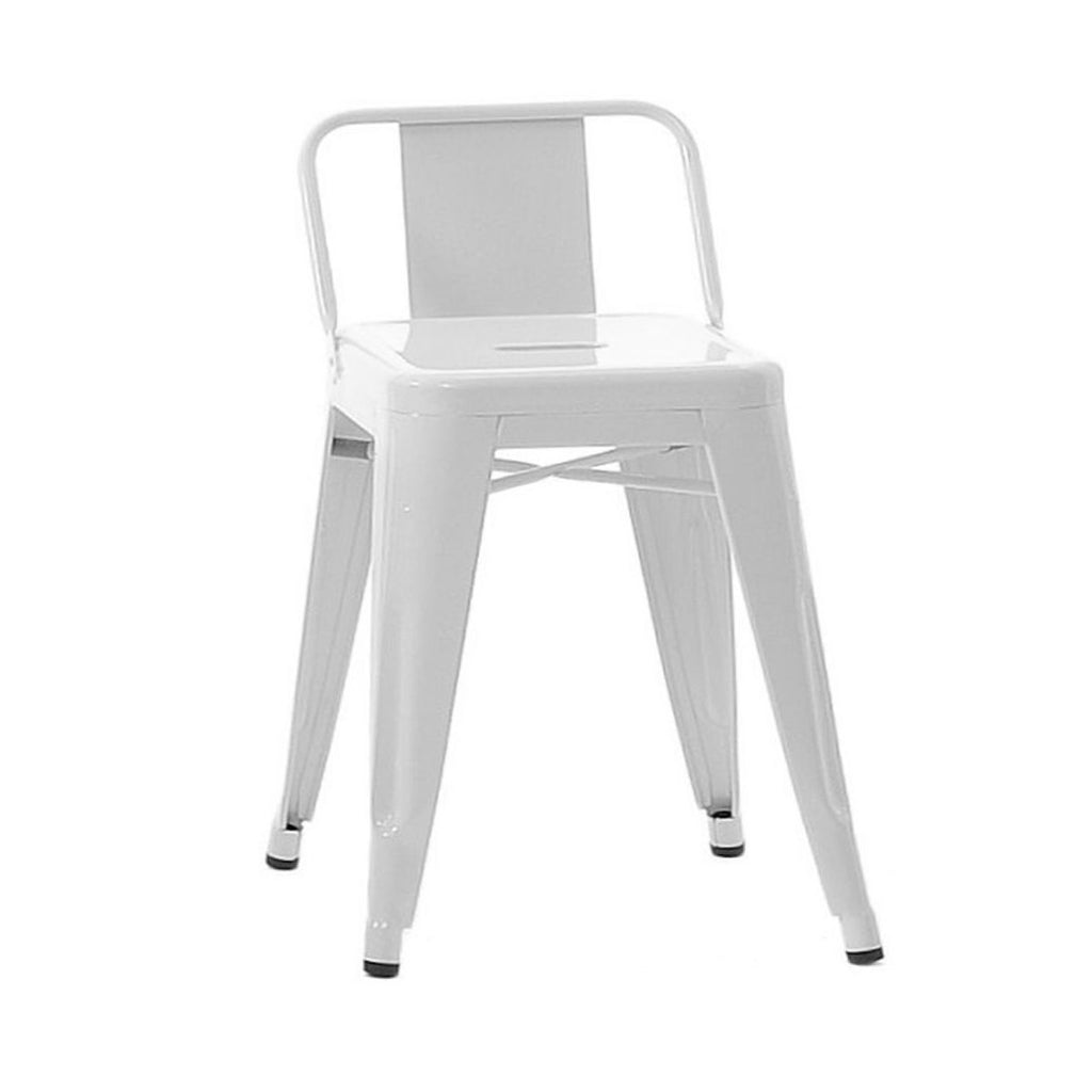 TOLIX Low Backrest Stool steel S