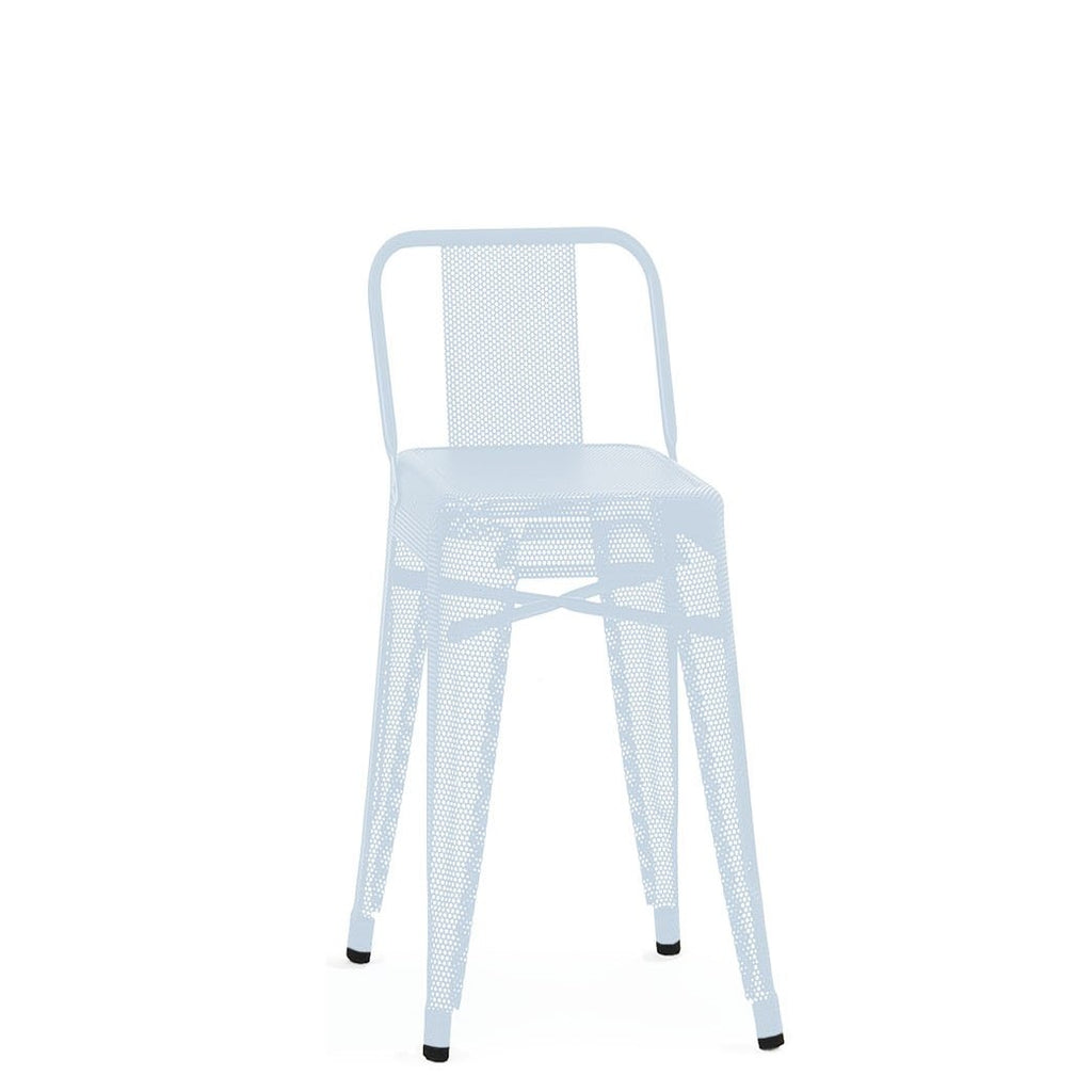 TOLIX Low Backrest Stool Perforated S