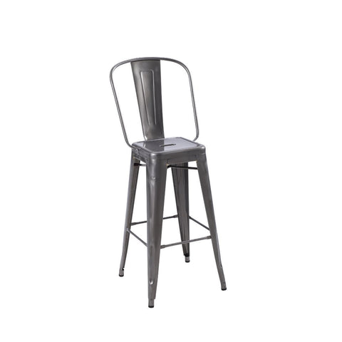 TOLIX High Backrest Stool H