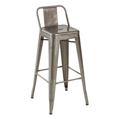 TOLIX Low Backrest Stool steel H