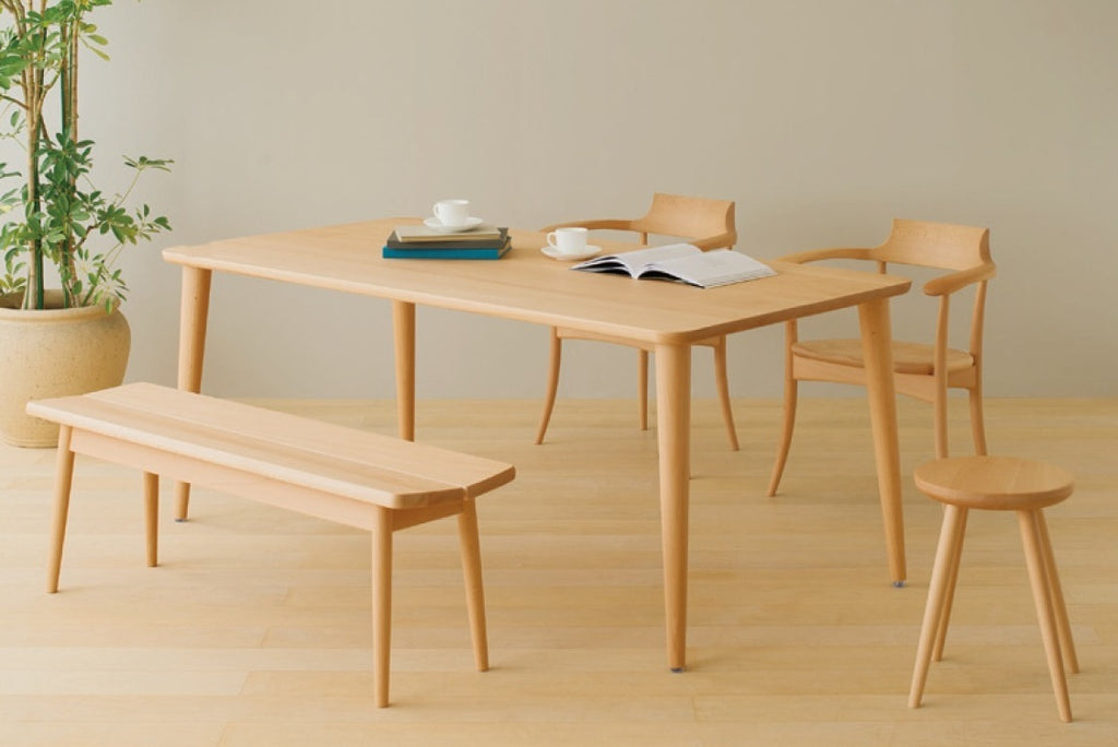 HIDA - HTS Dining Table Beech - Dining Table