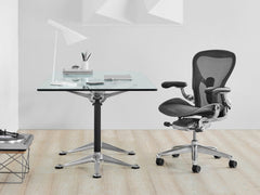 New Aeron Chair Graphite in Size A