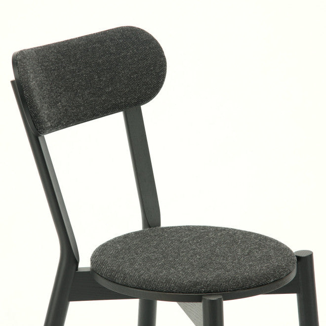 Karimoku New Standard - CASTOR CHAIR PAD black - Dining Chair