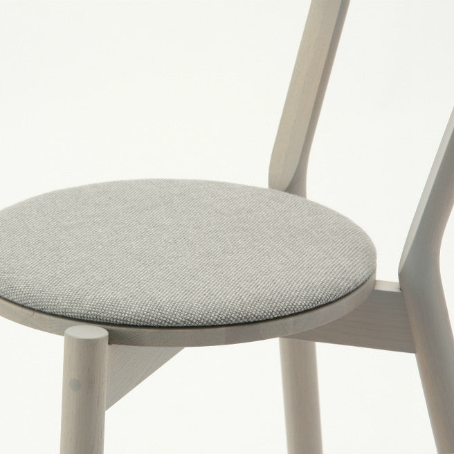 CASTOR CHAIR PAD grain gray