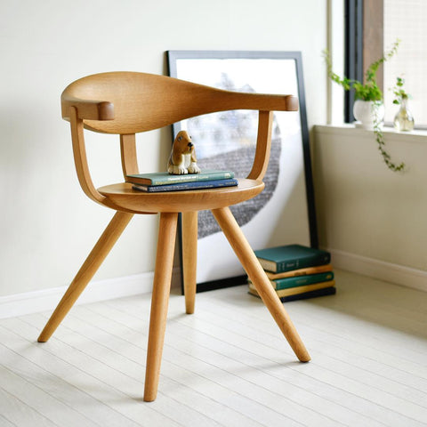 YANAGI arm chair - Dining Chair - HIDA