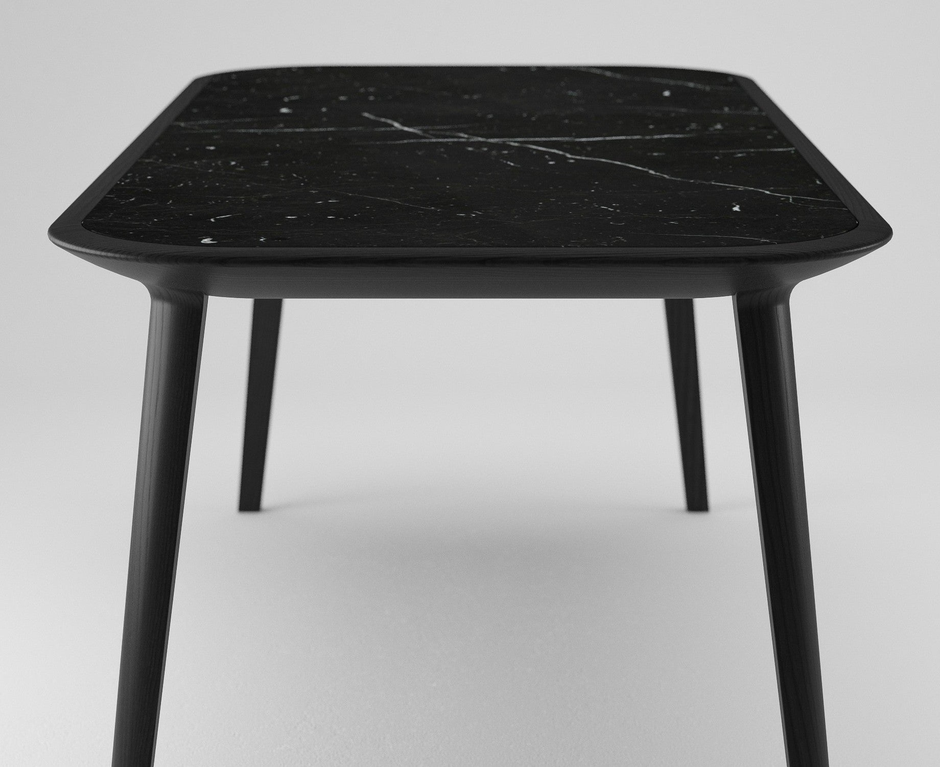 MITJA - KALOTA TABLE MARQUINA MARBLE - Dining Table