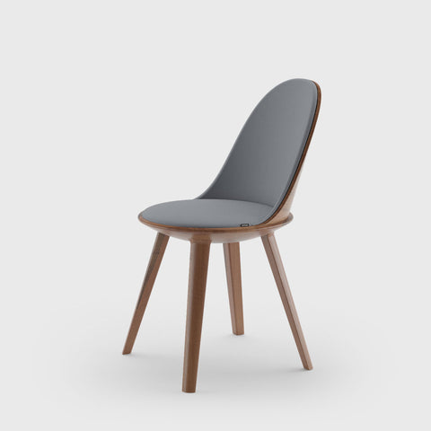 MITJA - KALOTA oval chair KALDC101 - Dining Chair