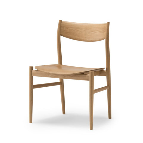 Conde House - KAMUY Dining Side Chair Wooden Seat - Dining Chair