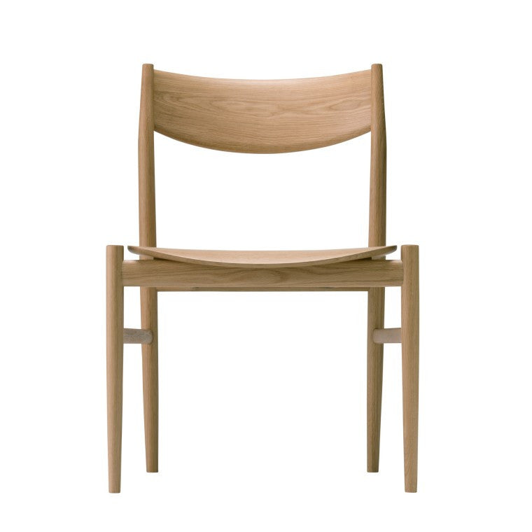 KAMUY Dining Side Chair Wooden Seat