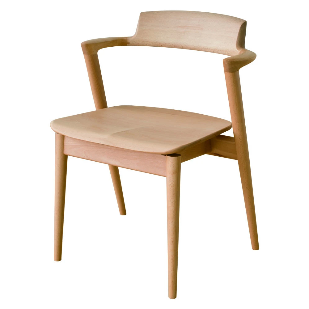 HIDA - SEOTO Arm Chair Beech - Dining Chair
