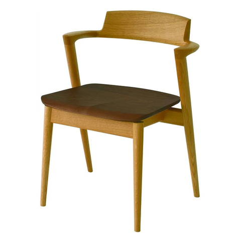 HIDA - SEOTO Arm Chair Two Tone - Dining Chair