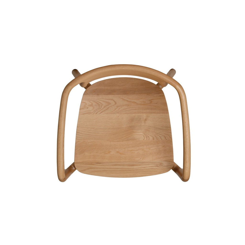 KORENTO Arm Chair Wooden Seat
