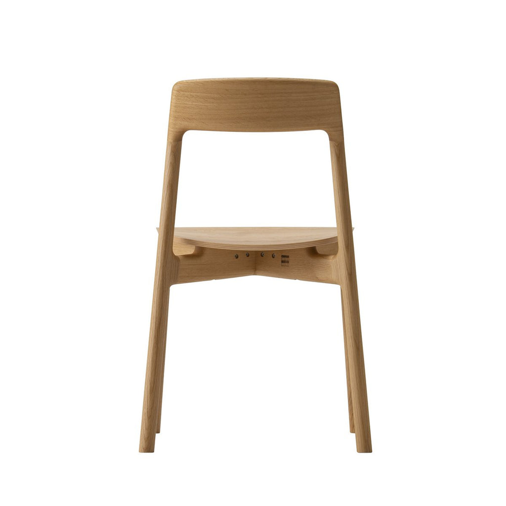 Conde House - KORENTO Side Chair Wooden Seat - Dining Chair