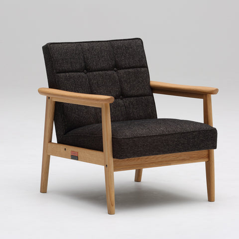Karimoku60 - k chair one seater suntory edition - Armchair