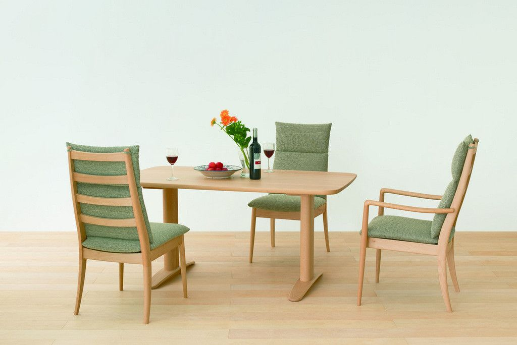 VIOLA chair high Beech - Dining Chair - HIDA