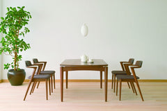SEOTO Arm Chair Walnut - Dining Chair - HIDA
