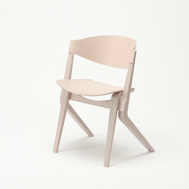 Karimoku New Standard - SCOUT CHAIR pink white - Dining Chair