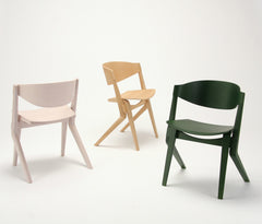 SCOUT CHAIR pink white