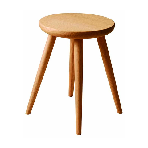 HIDA - CRESCENT Stool Oak - Stool